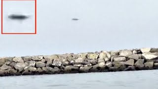 UFO Over Seal Beach, California Caught By Accident, Nov 2015, UFO Sighting News.