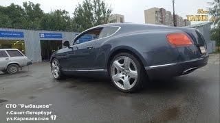 Bentley Continental Диагностика подвески и Развал/Схождение | СТО Рыбацкое| Шоу Тачки Ру(, 2016-07-22T21:04:39.000Z)