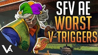 SFV - The Worst New V-Triggers! How Can They Be Fixed? Street Fighter 5 Arcade Edition