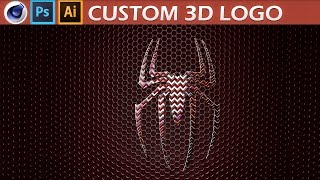Photoshop, Illustrator, Cinema 4D Import Logo to C4D Tutorial