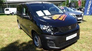 2019 Peugeot Partner Asphalt L1 BlueHDi 130 - Exterior and Interior - Automobil Tübingen 2019