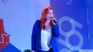 Анастасия Спиридонова на Дне города - 2016 в Зеленограде.
