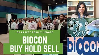 Biocon: Q3 latest result Update: Buy Hold Or Sell