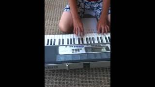 How to play axel f on piano EASY