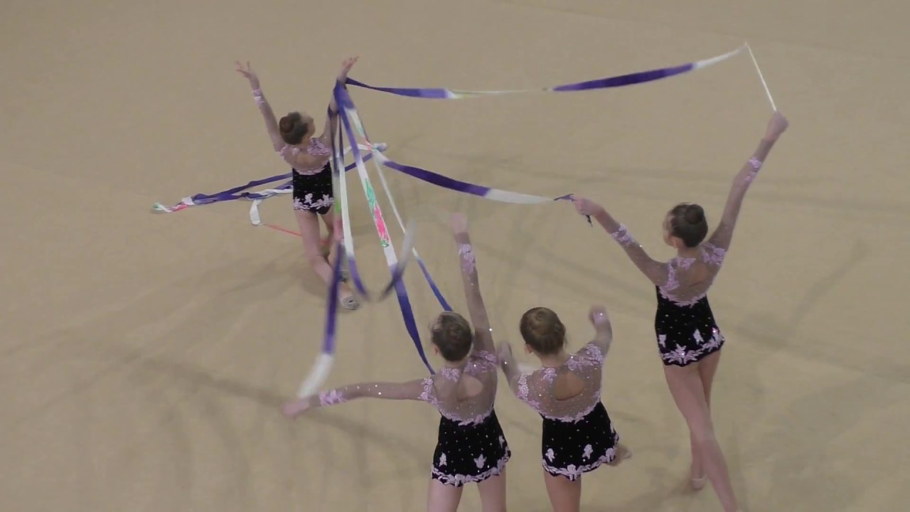 художественная гимнастика лента - Сургут