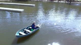 Taking the boat out For more info about The Drill Paddle go to: htt...
