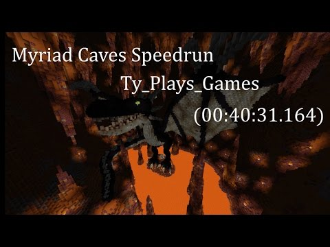 Minecraft Speedrun (Segmented, any%)- Myriad Caves- 40:31,164 [WR]