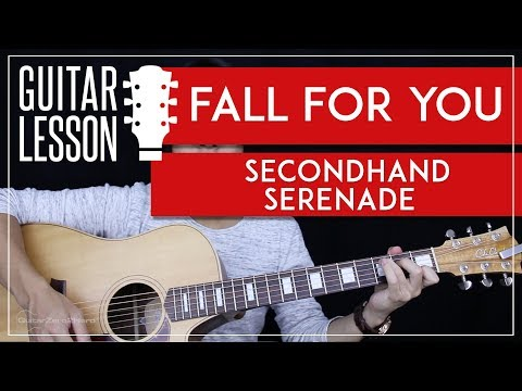 Fall For You Guitar Tutorial  Secondhand Serenade Guitar Lesson 🎸 Easy Chords + Guitar