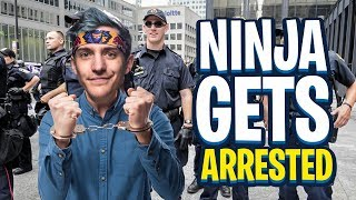 NINJA COULD GET ARRESTED IF HE DID THIS?! (Fortnite: Battle Royale)