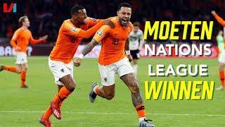 Nederland Moet De Finale van de Nations League Op Een Goede Manier Afsluiten