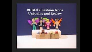 Roblox Fashion Icons Unboxing et Examen