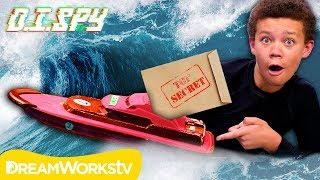 How to Send a Floating Secret Message | D.I.SPY