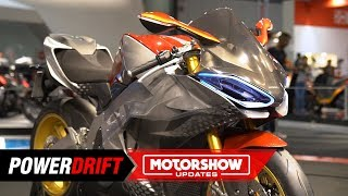 2019 Kymco SuperNEX : Electric superbike with a gearbox : EICMA 2018 : PowerDrift