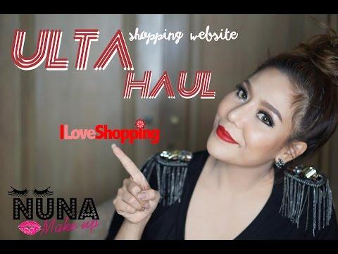 ULTA Haul 2015 | เปิดถุงช้อปปิ้งเครื่องสำอางค์จากเว็บULTA | Nuuna.makeup
