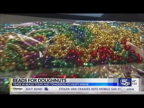 VIDEO: Trade in your Mardi Gras beads for doughnuts and help Augusta Evans School
