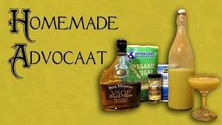 How to Make Advocaat - The Homemade Dutch Holiday Liqueur (Alternative to Eggnog)