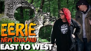 EERIE NEW ENGLAND - Haunted Road Trip East to West - Castle Ruins & America's Stonehenge