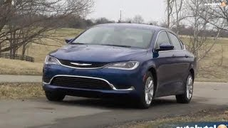 2015 Chrysler 200 First Drive Video Review