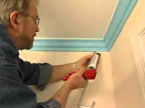 How to installed xps polystyrene cornice