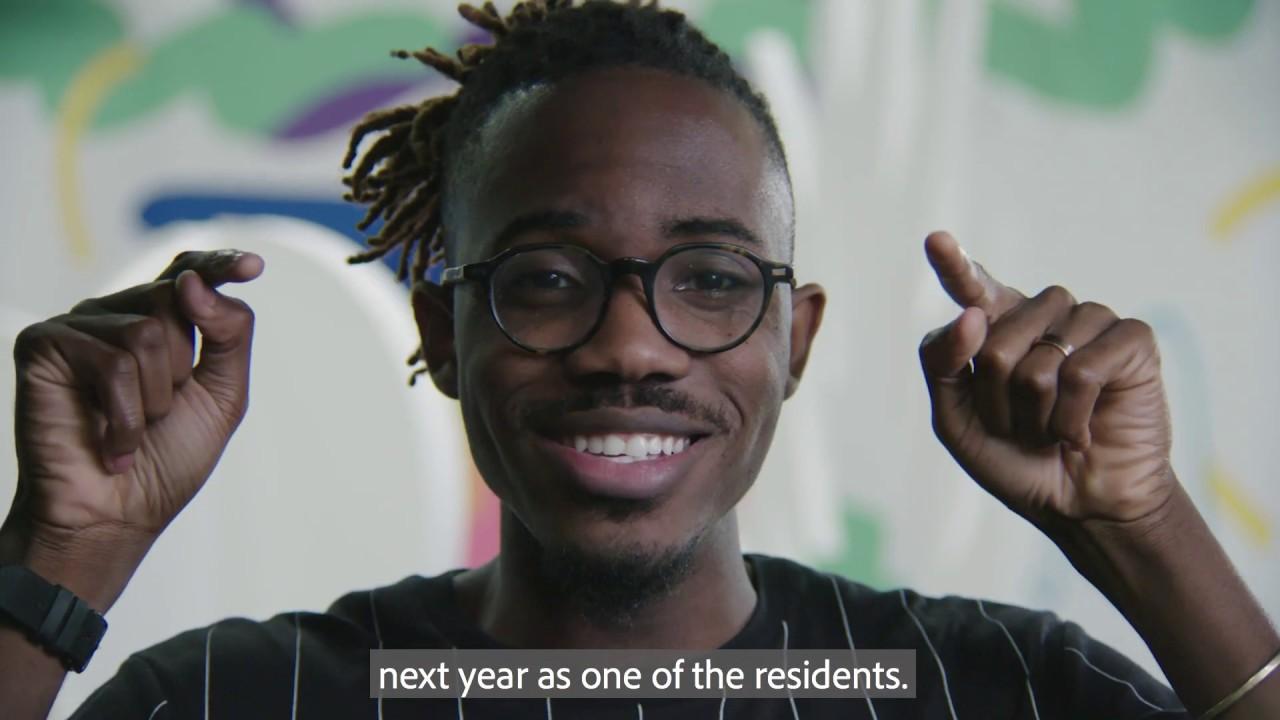 adobe creative residency 2019
