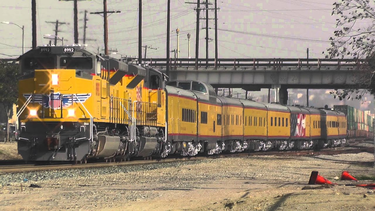 Union Pacific 8992 Business Special 2 3 15 Youtube