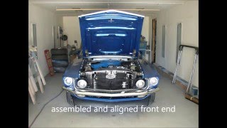 1969 Ford Mustang mach 1 classic muscle car restoration- body