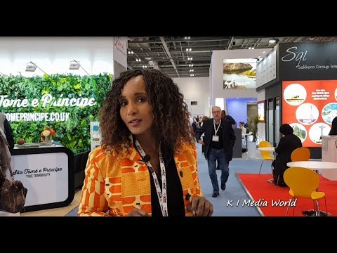World Travel Market 2017 -- São Tomé and Príncipe Day One #WTMLDN