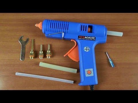 Лучший клеевой пистолет с терморегулятором 150W с AliExpress