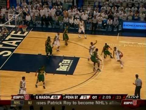 Mar. 17 - George Mason v. Penn St. - 2 of 2 - Last 4 Minutes