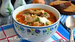Суп с перловкой и мясом(, 2016-11-12T10:13:02.000Z)