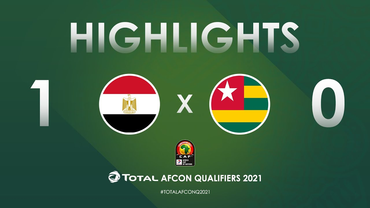 HIGHLIGHTS | Total AFCON Qualifiers 2021 | Round 3 - Group G: Egypt 1-0 Togo