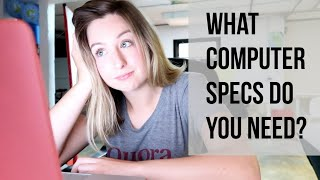 Understanding Computer Specs   What Computer Specs You Need in a Computer