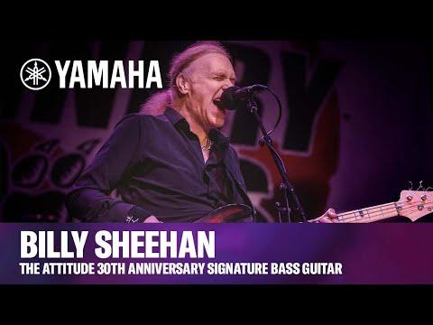 Yamaha | Billy Sheehan - The Attitude 30th Anniversary Signature Bass Guitar
