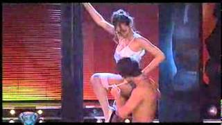 "Showmatch 2008 - Pampita interpretó ""Nueve semanas y media"""""""