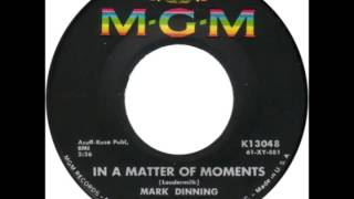 "Mark Dinning -- ""In A Matter Of Moments"" (MGM) 1961"