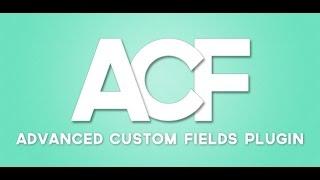 видео Advanced Custom Fields Pro v5.6.2 - редактор дополнительных полей для Wordpress