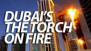 appearance of the devil in the hotel's fire Dubai