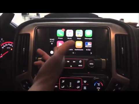 Adding 2016 Apple Carplay into a 2014 2015 GMC Sierra or ...