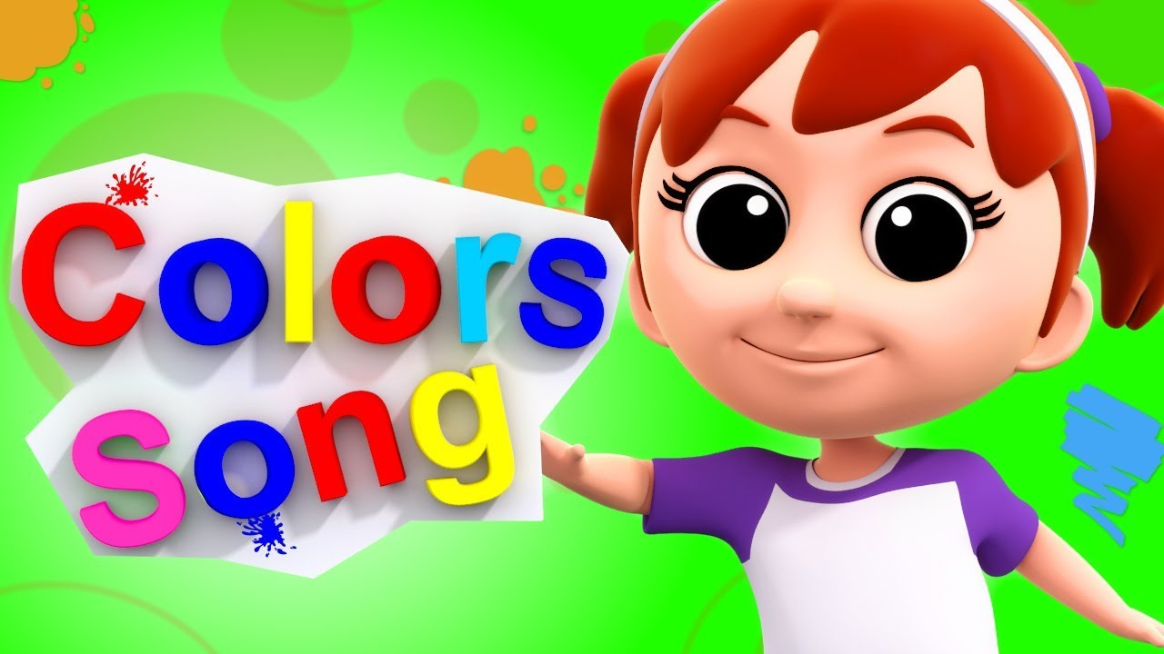 Colors Song | Learn Colors | Nursery Rhymes | Baby Songs | Kids ...