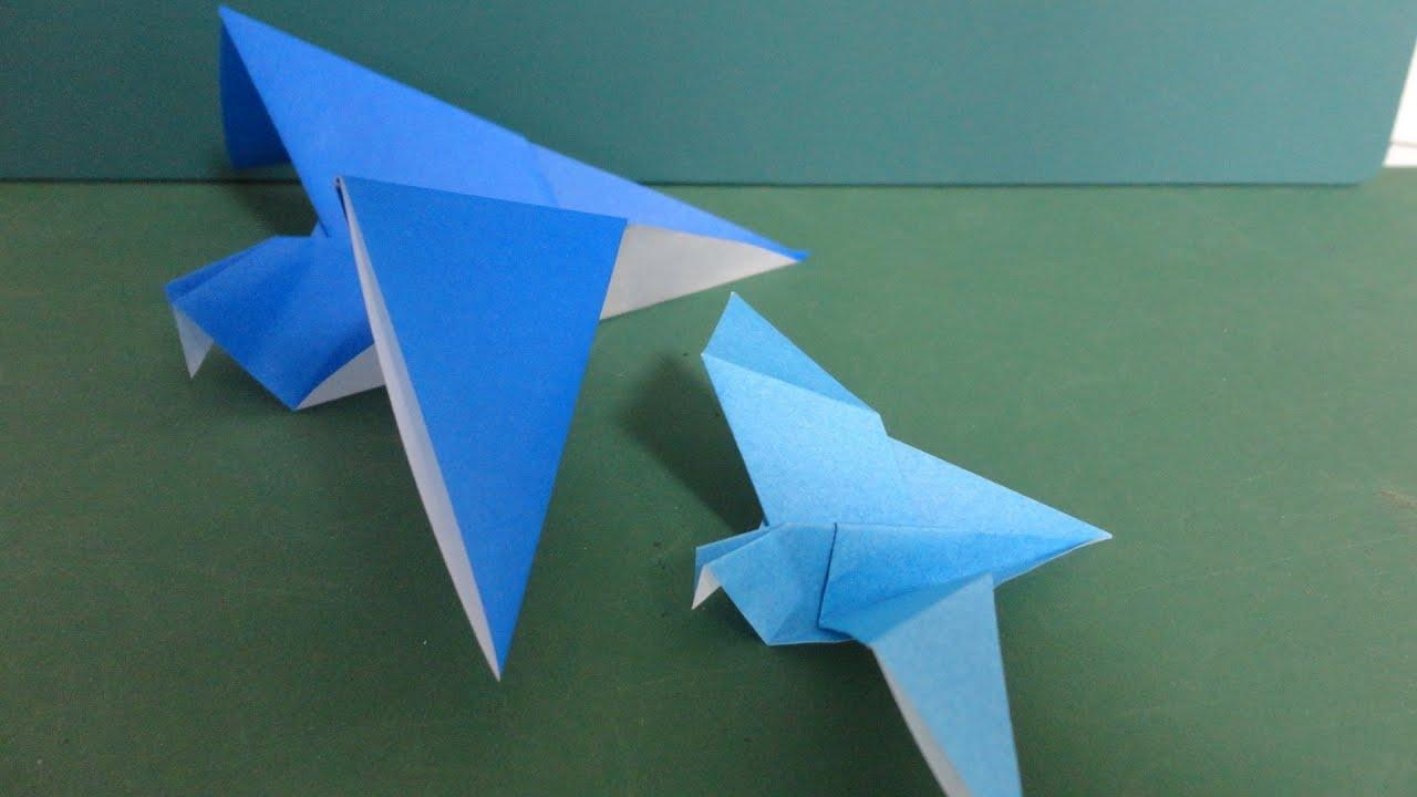 """「鳩」折り紙""""Dove""""Origami - YouTube - photo#14"""