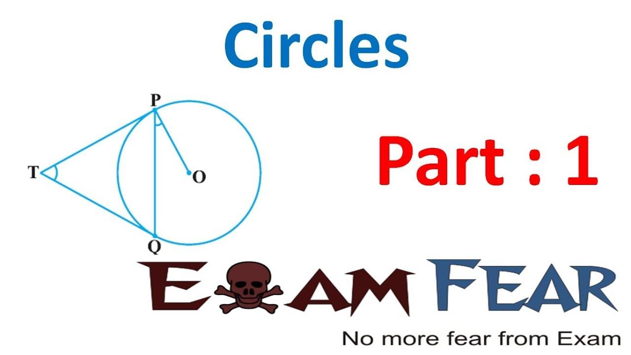 Maths Circles part 1 (Introduction) CBSE class 10 Mathematics X