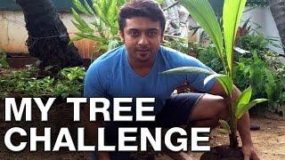 Suriya Challenges Mahesh Babu, Aamir Khan, Sudeep - My Tree Challenge - Mammootty