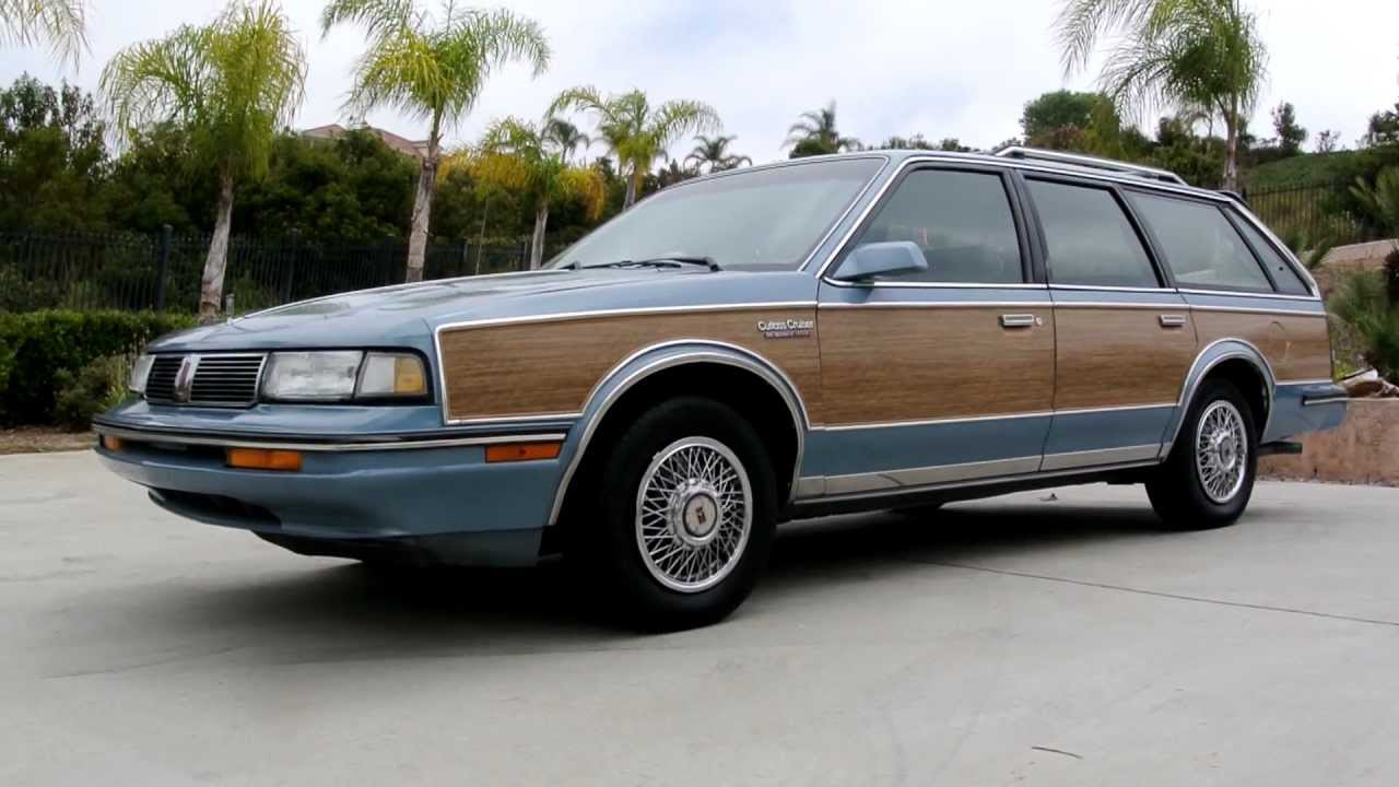 1988 Oldsmobile Cutlass Ciera Cruiser Station Wagon Estate
