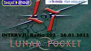 Lunar Pocket   Intervju Radio 202   26 01 2012
