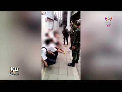 ทุบโต๊ะข่าว : วินาทีทหารลุยปรามเด็กอาชีวะ  12/08/57