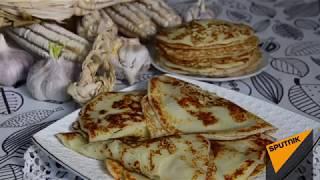 На вкус как амгиал: рецепт кукурузных блинов с сыром из Абхазии
