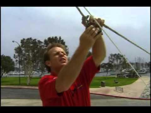 Raising Lowering Mast of a Corsair 31
