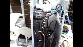 destravando compressor de ar condicionado split