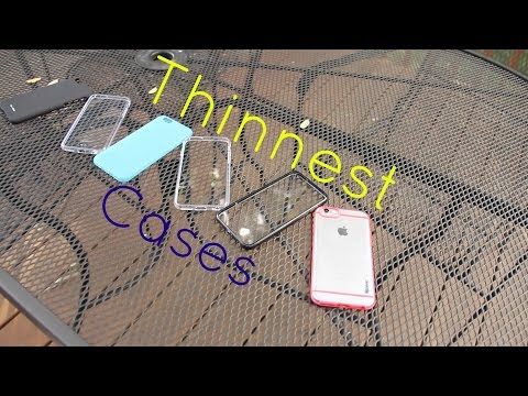 Thinnest iPhone 6 Cases! (Review)