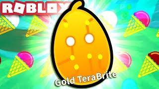 TOY LAND SECRET PET & GOLD TERABRITE! Roblox Ice Cream Simulator